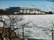 Kennedy Center in Snow