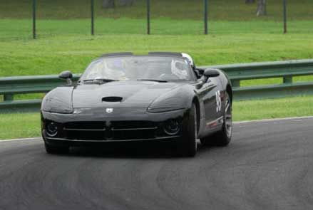 Check out Russ on the track!